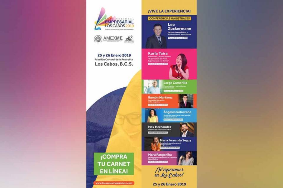 Invita SETUES a Foro Regional Empresarial Los Cabos