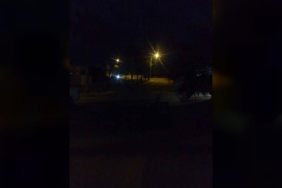 Colonia Hemisferia registra asaltos y robos a casas por falta de alumbrado público