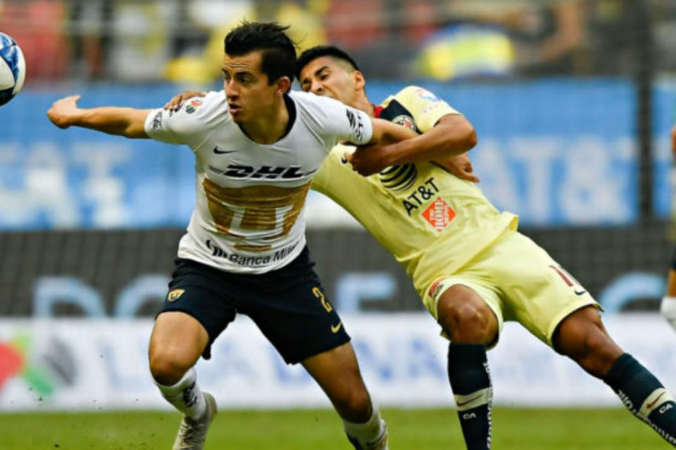 América con ligera ventaja ante Pumas en semifinal de vuelta de Liguilla