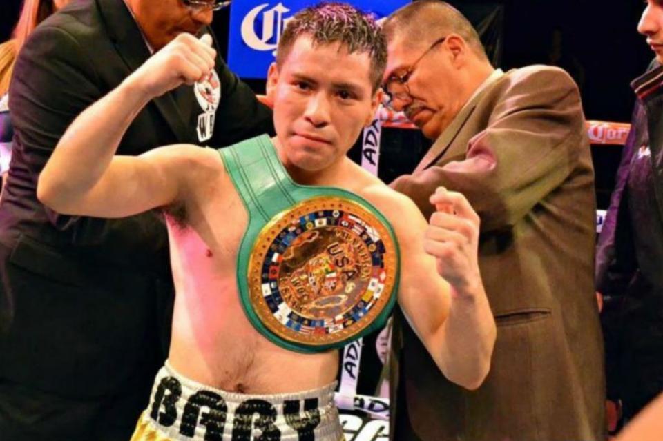 """Boxeador """"Baby"""" Juárez quiere cumplir sueño y ser campeón mundial"""