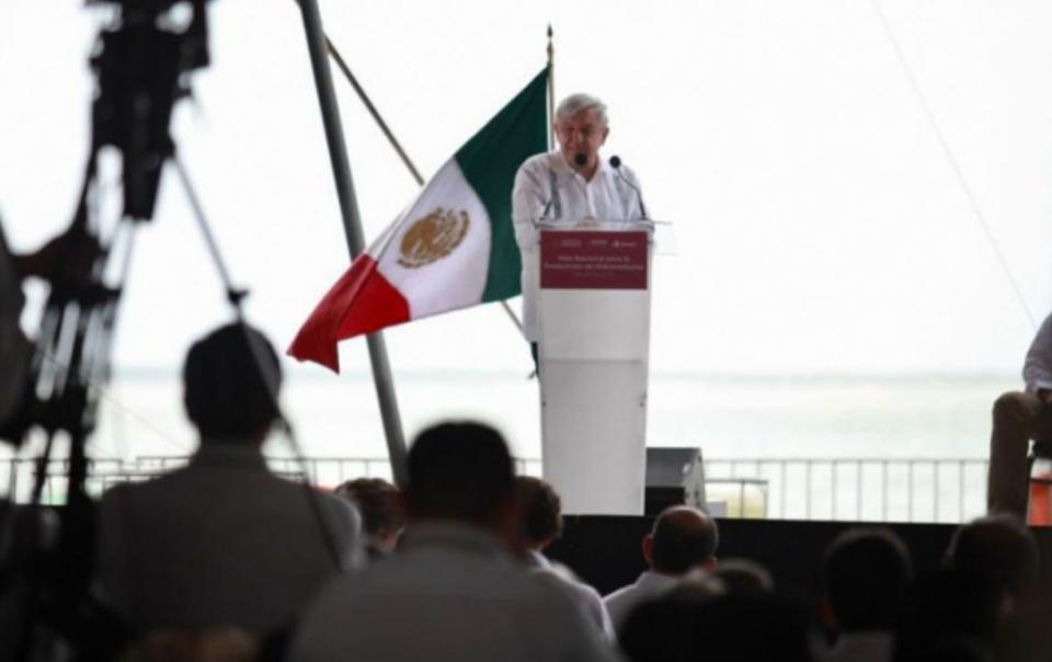Producir 2.4 millones de barriles de petróleo diarios, meta sexenal de López Obrador