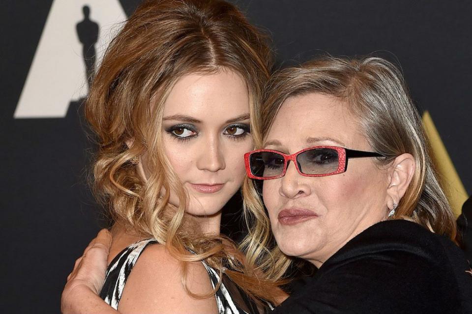 Actriz Carrie Fisher es recordada por su hija con un video en Instagram