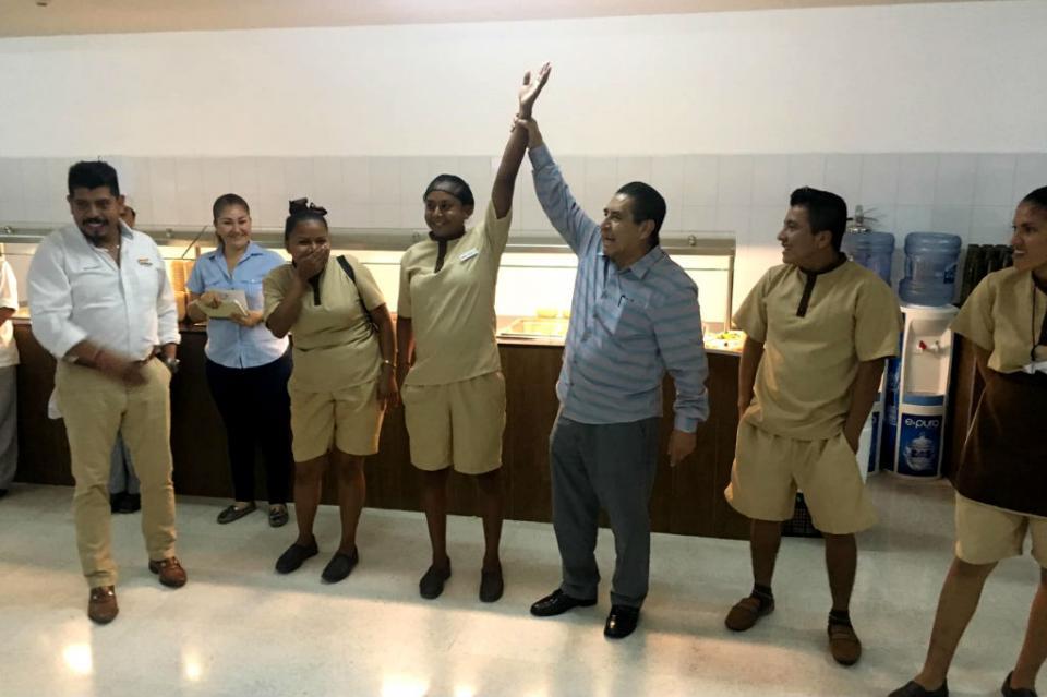 Trabajadores del hotel Riu CSL afiliados a la CROC, eligen a sus nuevos Delegados Sindicales