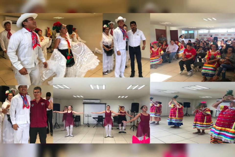 Imparte la CROC clases de danza y música a sus trabajadores y población abierta