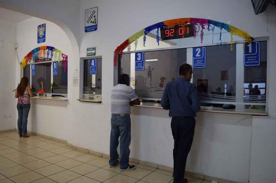Hasta fin año continuará OOMSAPAS brindando facilidades de pago