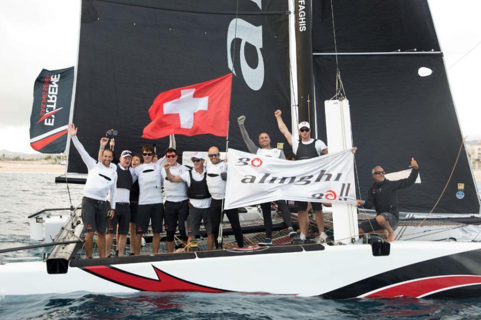 Alinghi gana la temporada 2018 de Extreme Sailing Series™ en Los Cabos