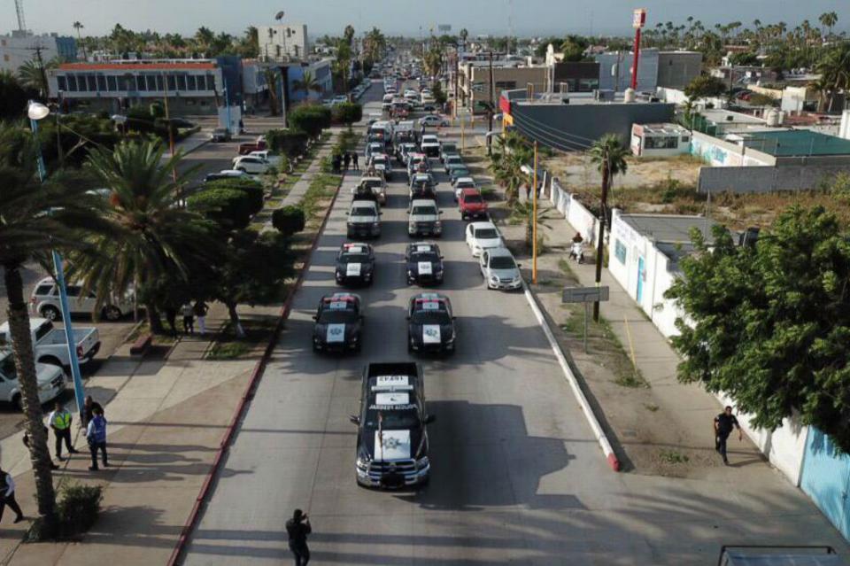 Despliegan en BCS más de 2 mil elementos para operativo de Seguridad Guadalupe-Reyes