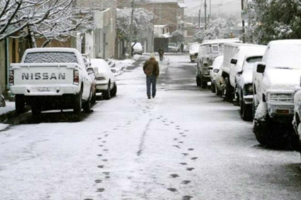 Reportan temperatura de menos 10.5 grados en La Rosilla, Durango