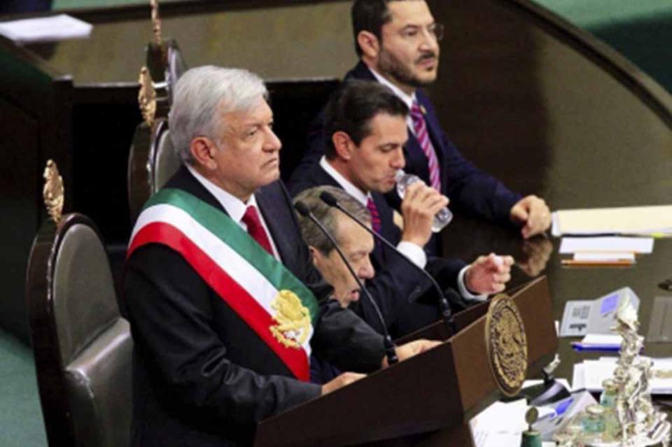 """""""Estoy preparado para no fallarle a mi pueblo"""" López Obrador"""