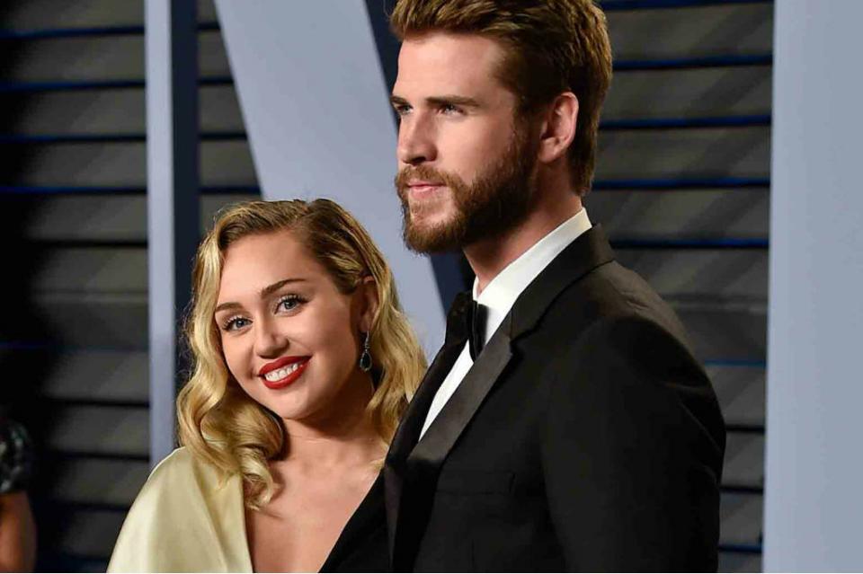 """Miley Cyrus y Liam Hemsworth celebran """"boda secreta"""""""