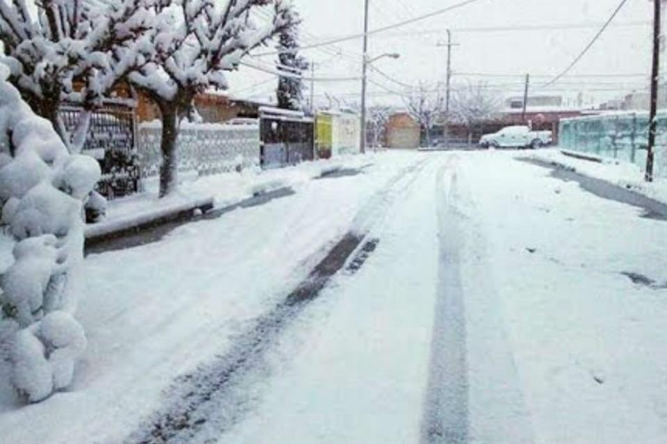 Cierran tramos carreteros en Chihuahua por nevadas