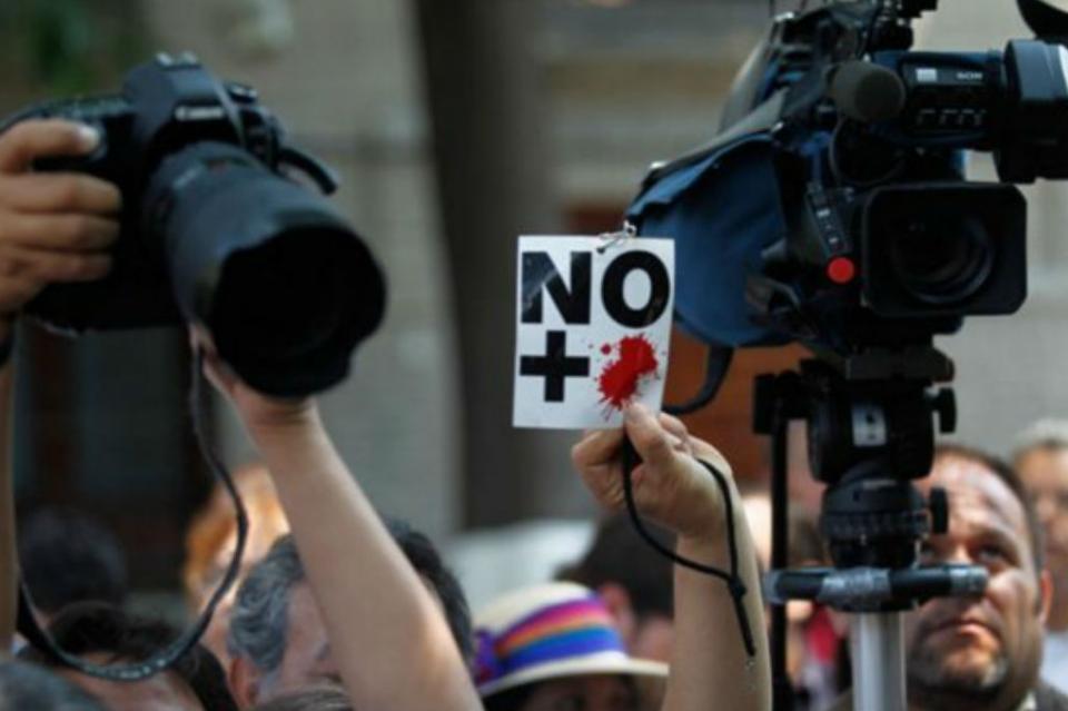 Más de 250 periodistas detenidos en el mundo por ejercer su labor
