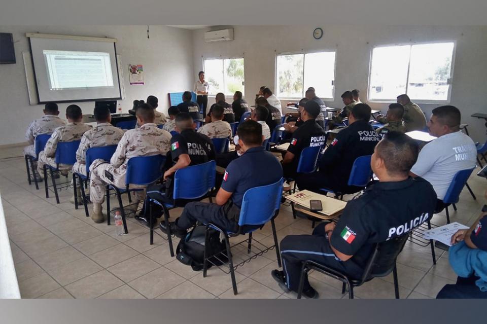 Más de 100 Policías de Los Cabos se actualizan en el protocolo del primer respondiente