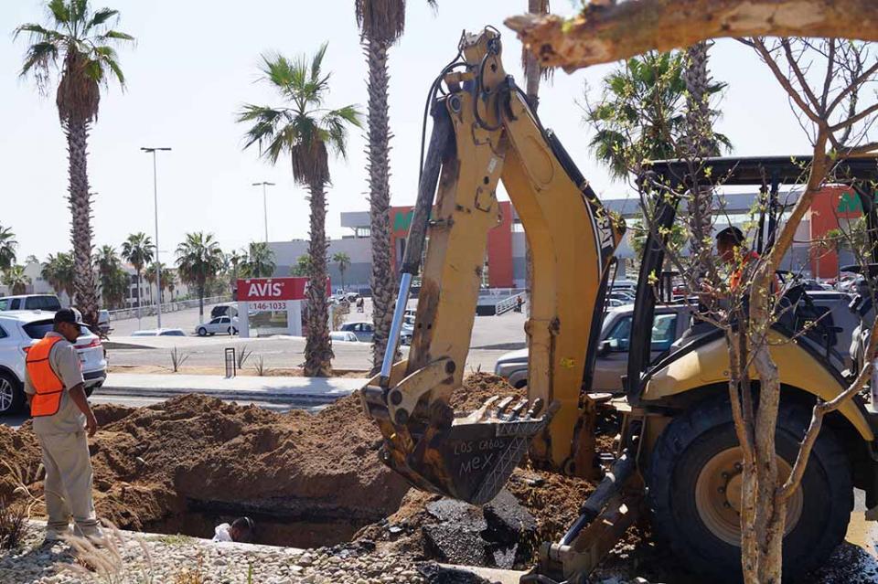 Realizará OOMSAPAS Los Cabos mantenimiento correctivo al acueducto I de SJC