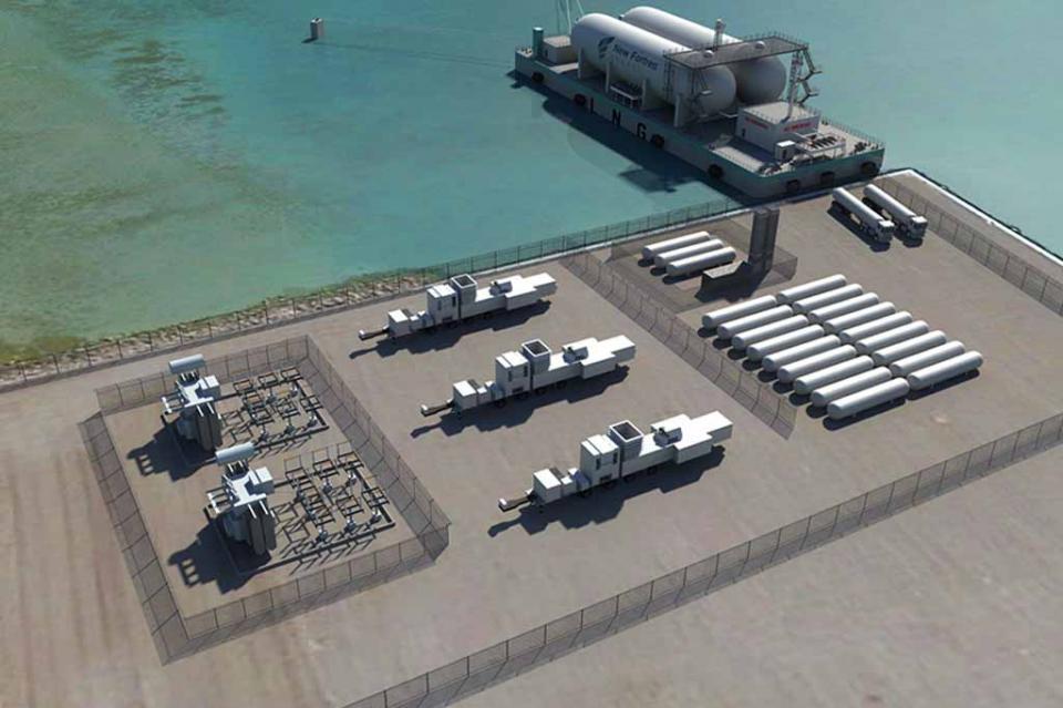 Iniciarán obras de construcción de la primera terminal de gas natural en BCS