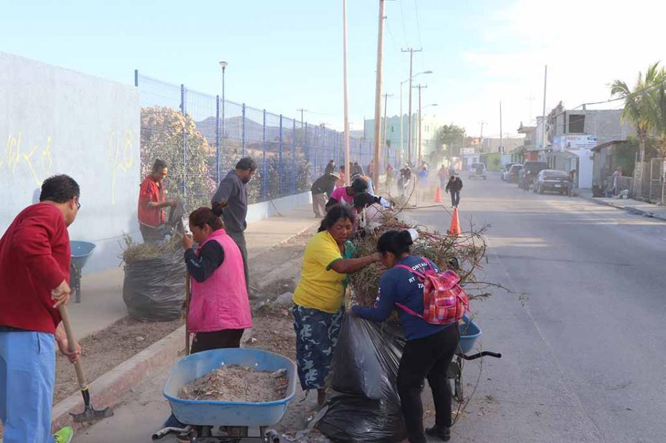 Gobierno de Los Cabos realiza campañas de limpieza en Cabo San Lucas