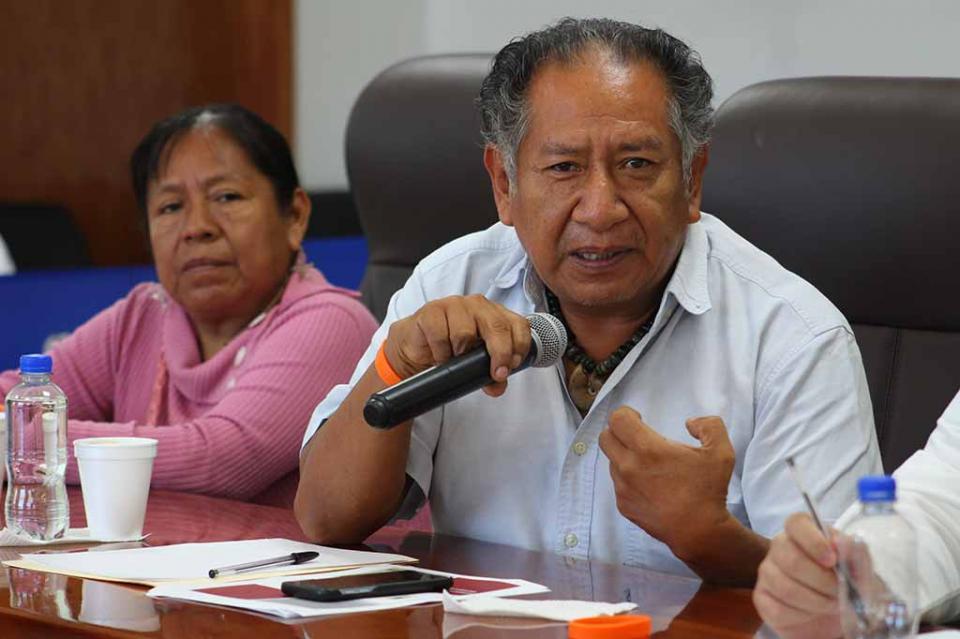 Indígenas que viven en Los Cabos se encuentran en situaciones muy precarias que hay que atender: Leonardo Jiménez Castrejón