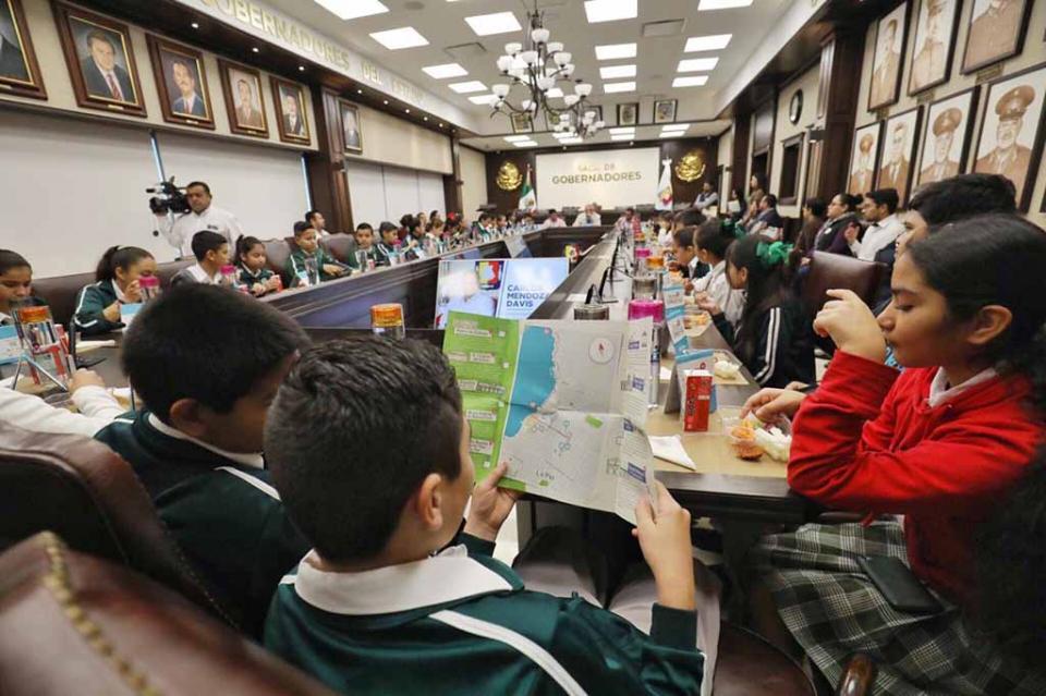 Crece el entusiasmo de niños por programa Ruta de las Instituciones