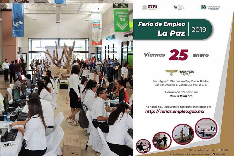 Todo listo para la primera Feria de Empleo La Paz 2019