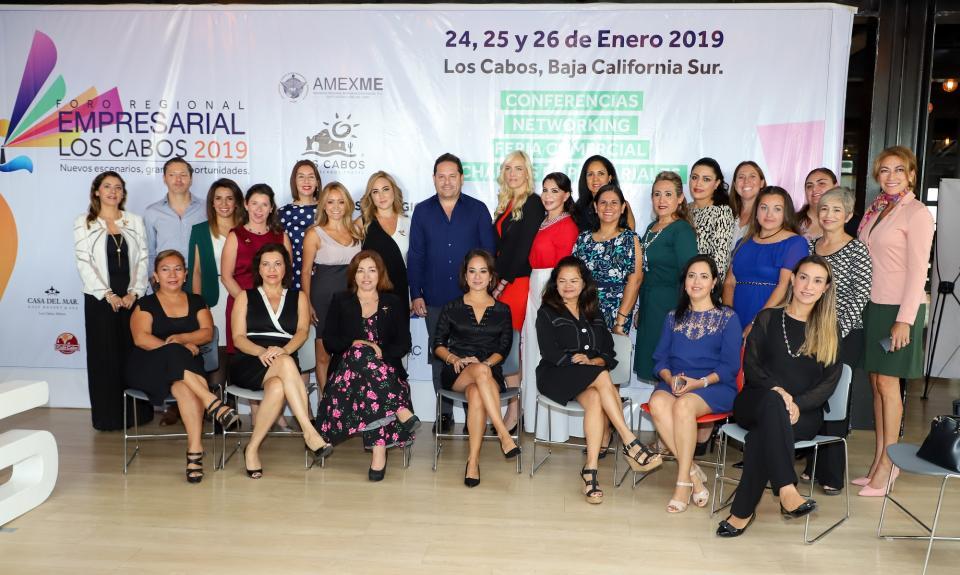 Foro Regional AMEXME Los Cabos 2019, espacio para el fortalecimiento empresarial: SETUES