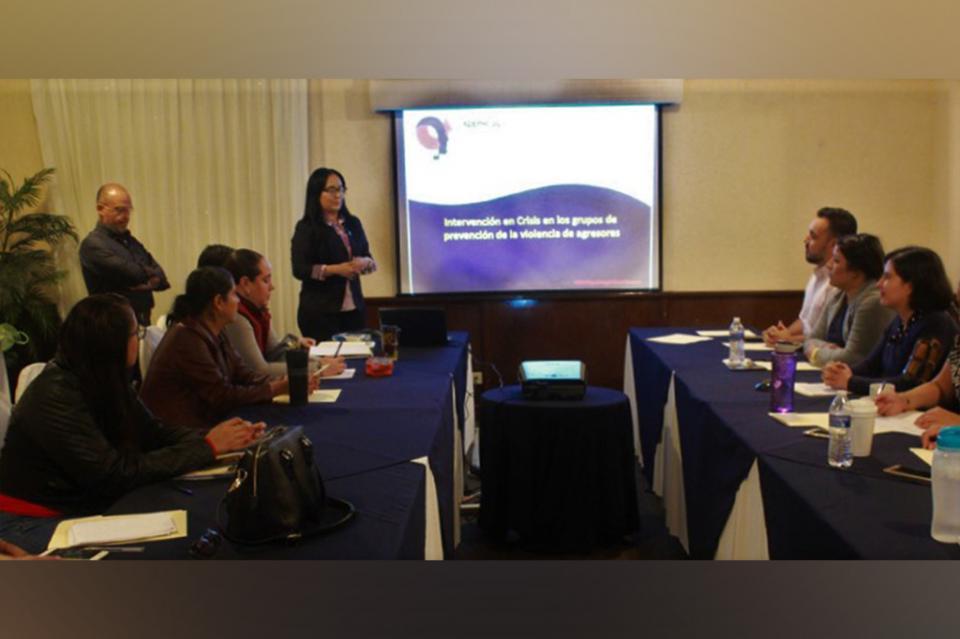 Trabaja Salud en materia de prevención de la violencia intrafamiliar
