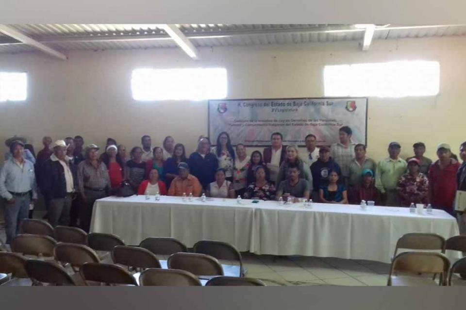 Se realizó el primer Taller Informativo sobre la Ley de Derechos de las Personas, Pueblos y Comunidades Indígenas de Baja California  Sur