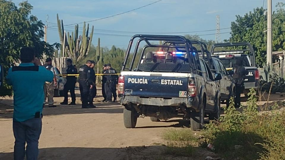 Asesinan a balazos a hombre en colonia La Pitahaya en La Paz