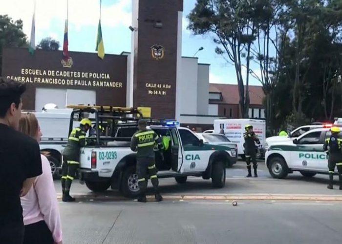 Aumenta a 21 la cifra de muertos tras el atentado en Bogotá