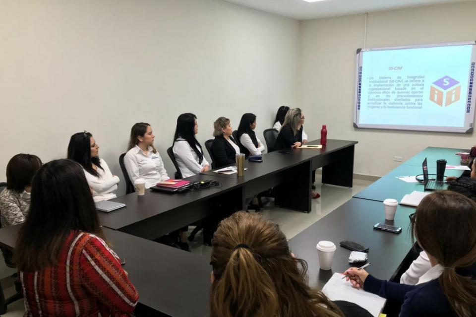 Brinda Conavim asistencia técnica al centro de Justicia para las mujeres para lograr certificación