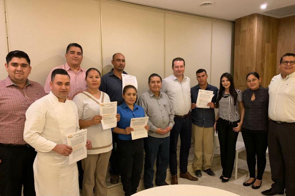 Inicia la CROC revisión de contratos colectivos en empresas de Los Cabos