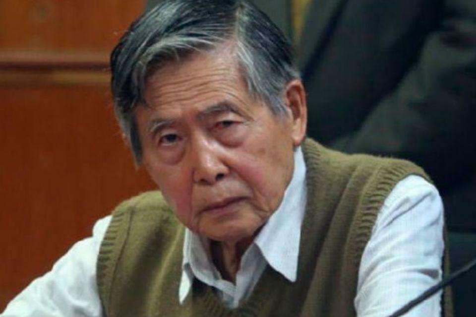 Autoridades judiciales de Perú ordenan regreso de Fujimori a un penal