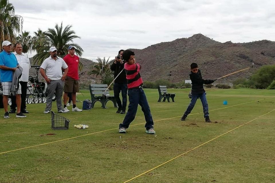 Tendrán golfistas intervención a nivel regional