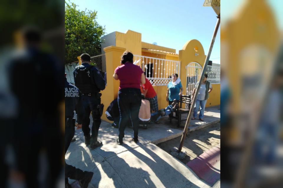 Hombre se corta el brazo con moto sierra en La Paz