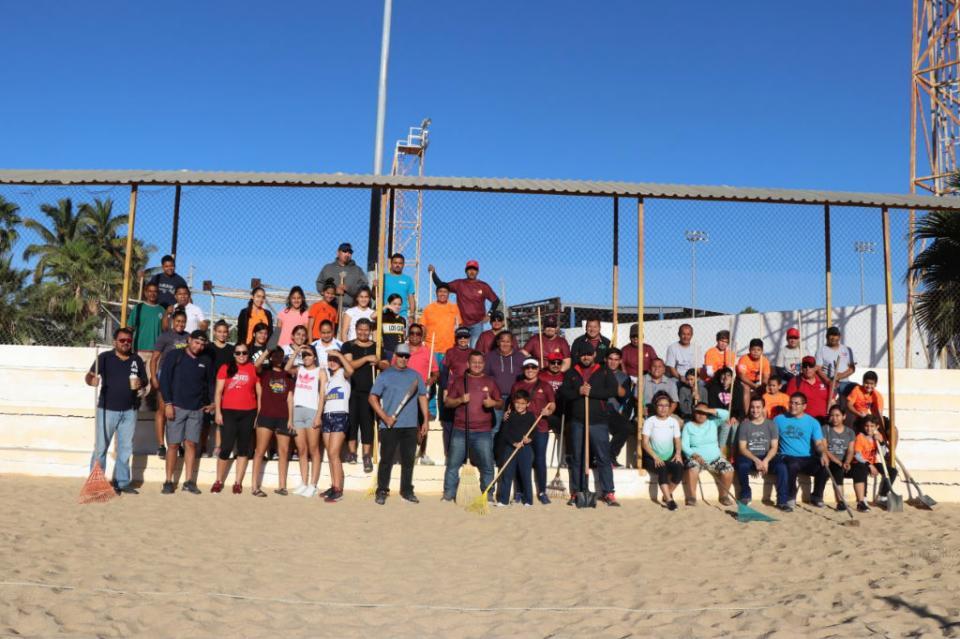 INDEM Los Cabos continúa realizando campañas de limpieza en espacios deportivos
