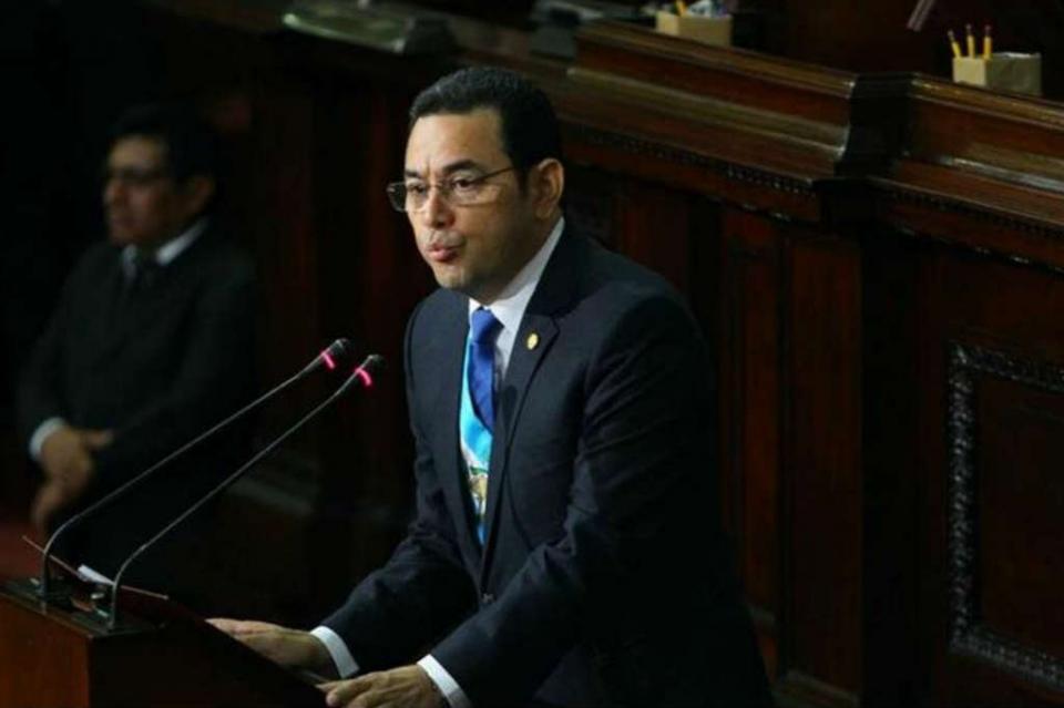 Protestas en Guatemala enmarcan tercer informe del presidente Morales