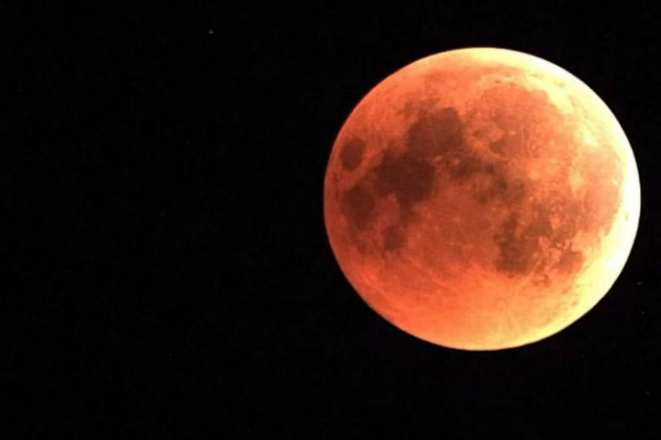 """El 20 de enero será la """"Luna de sangre"""", primer eclipse lunar del 2019"""