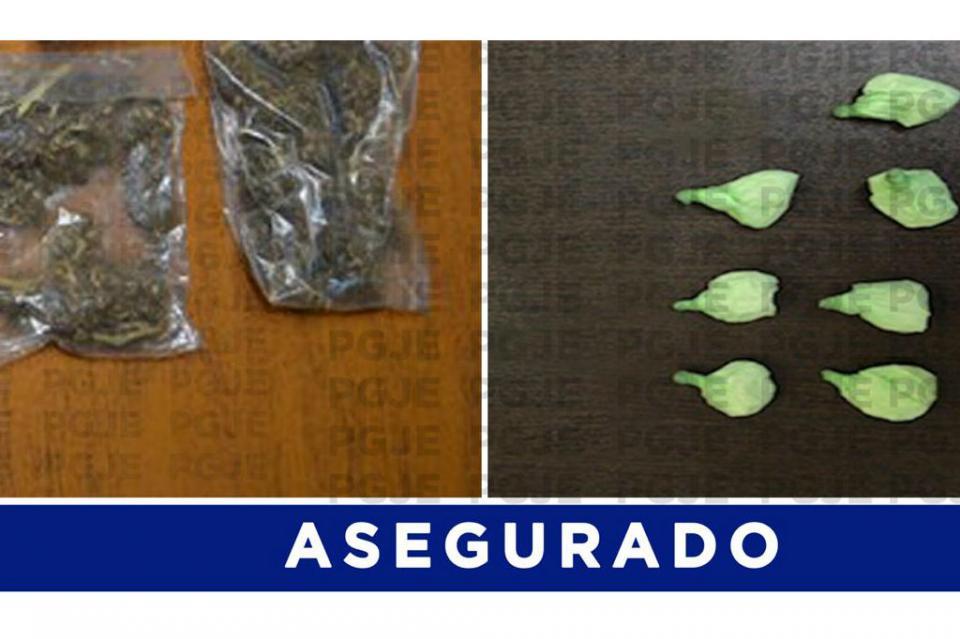 """Con más de 500 dosis de cristal y marihuana detienen a Manuel """"N"""" en SJC"""