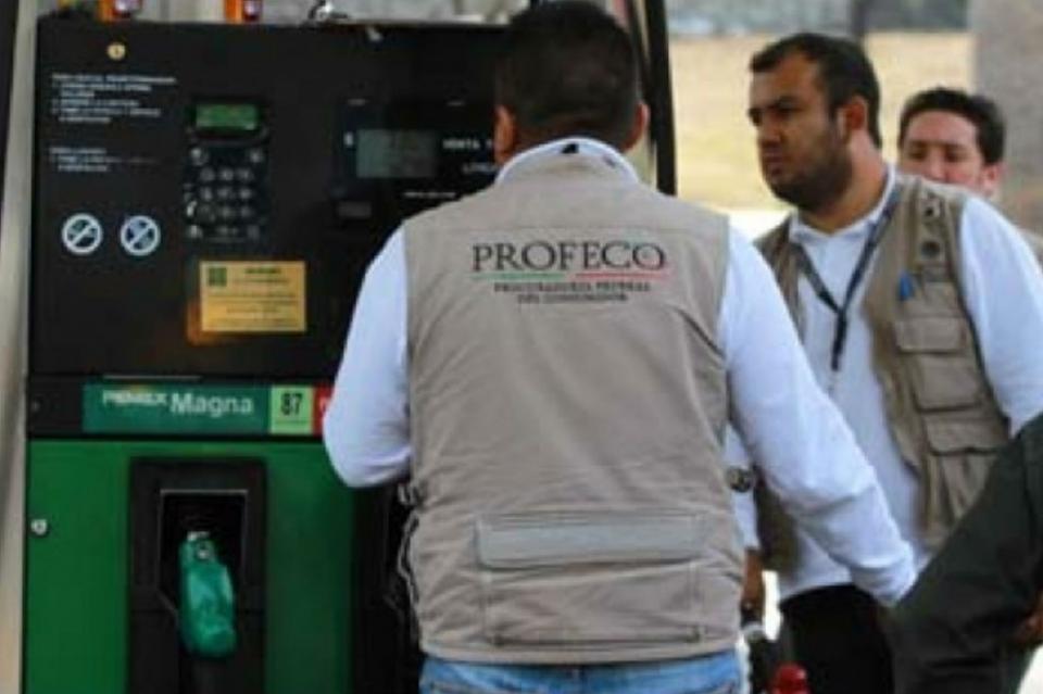 Garantiza Profeco abasto de combustible