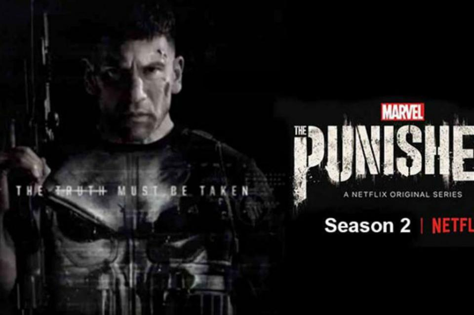 "Segunda temporada de la serie de Marvel ""The Punisher"" llega a Netflix"