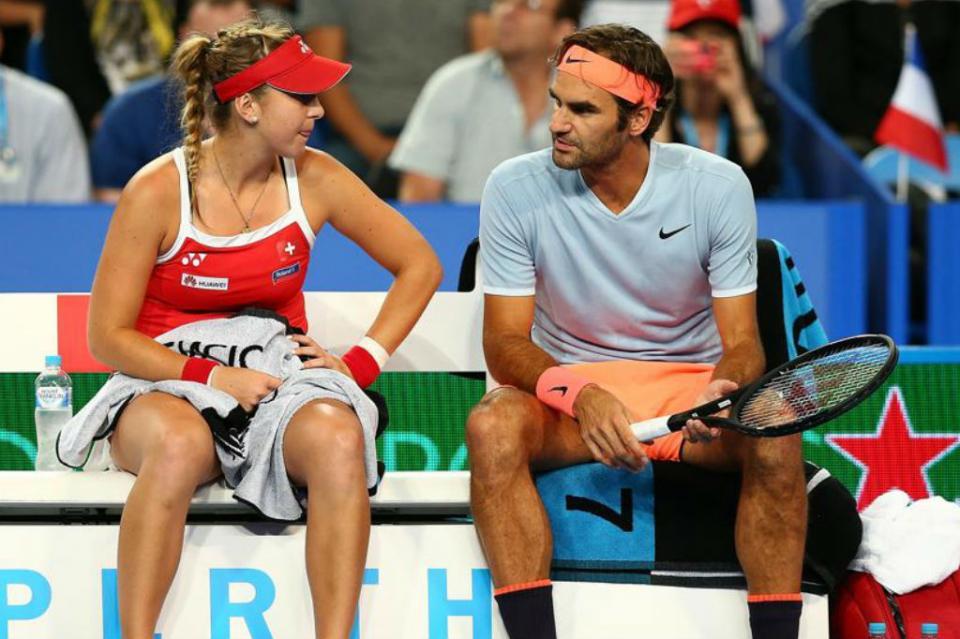 Roger Federer y Belinda Bencic conquistan Copa Hopman