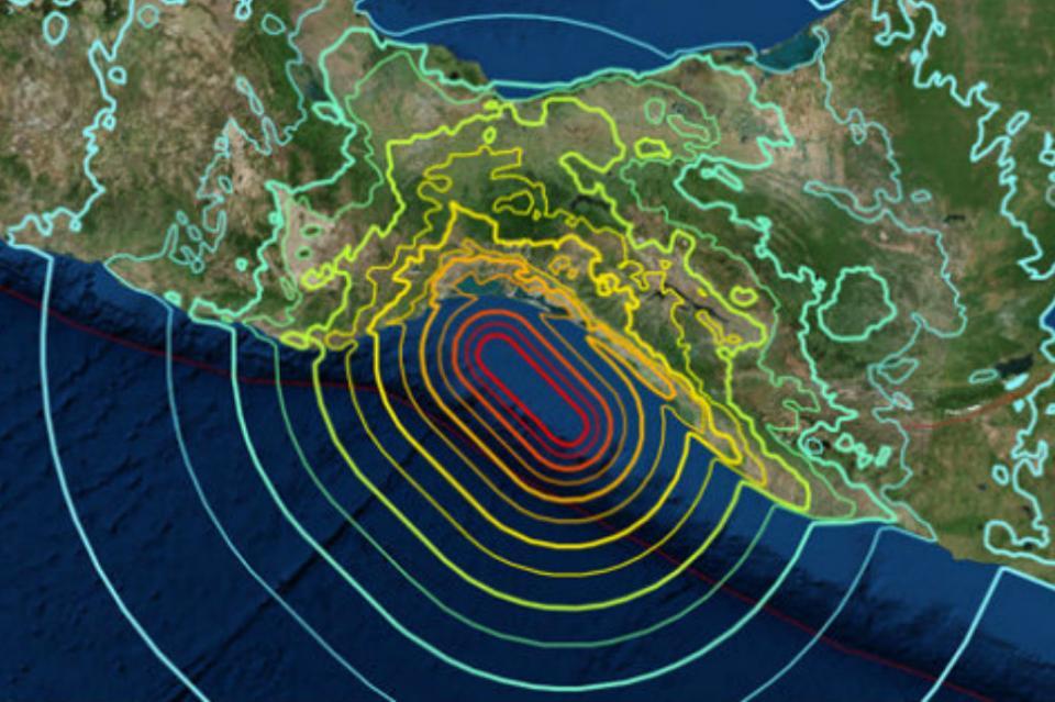 Ocurren cuatro sismos esta mañana en Chiapas, Oaxaca y Guerrero