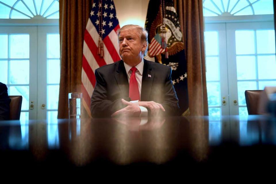Trump podría emitir el primer veto si le niegan la emergencia nacional