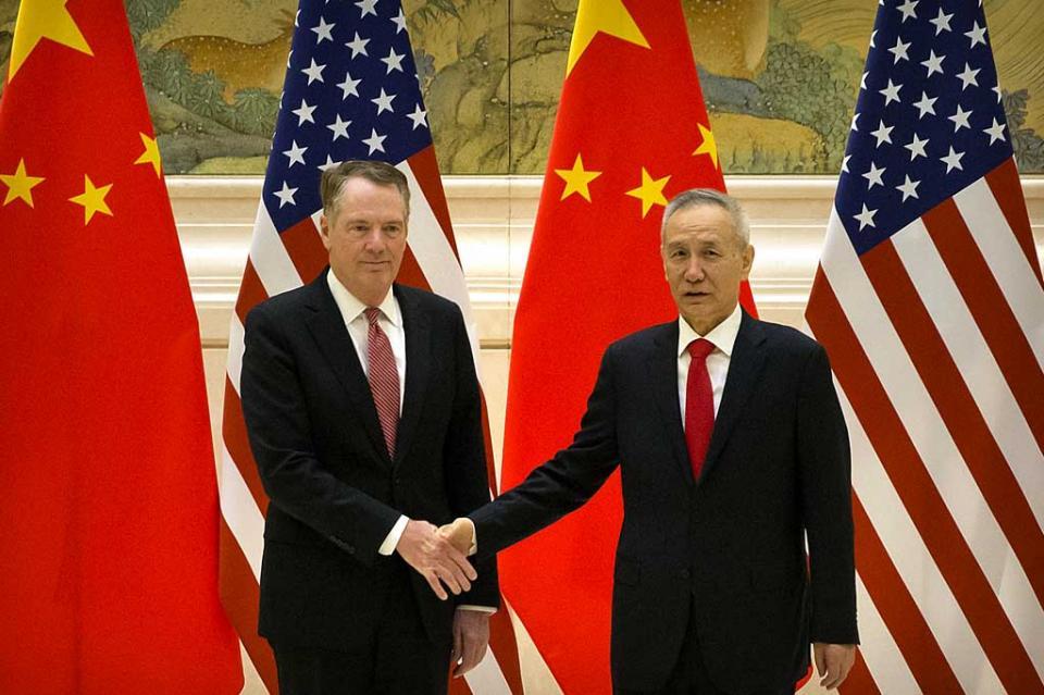 Comienza nueva ronda de negociaciones comerciales China-EUA