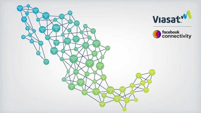 Facebook y Viasat llevarán internet a comunidades rurales de México