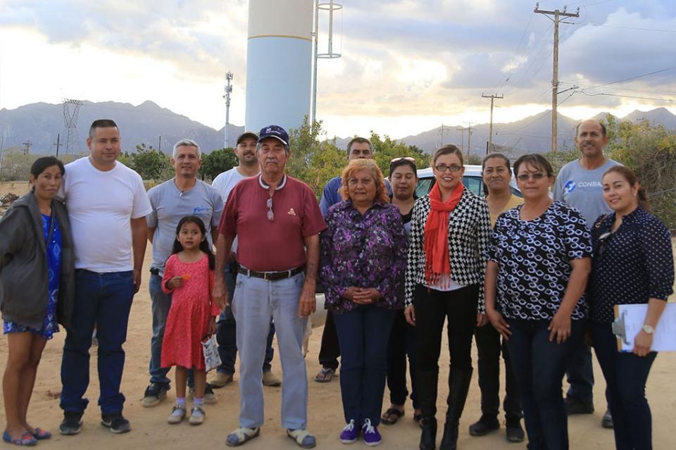 Conforma Oomsapas Los Cabos Comité Pro Obra en Santa Anita Invi