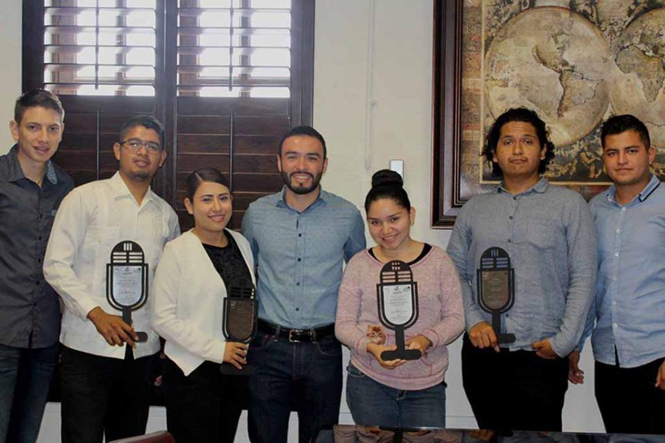"""IMJUVE entrega de reconocimientos a los ganadores de """"Radio Juventud 2019"""""""