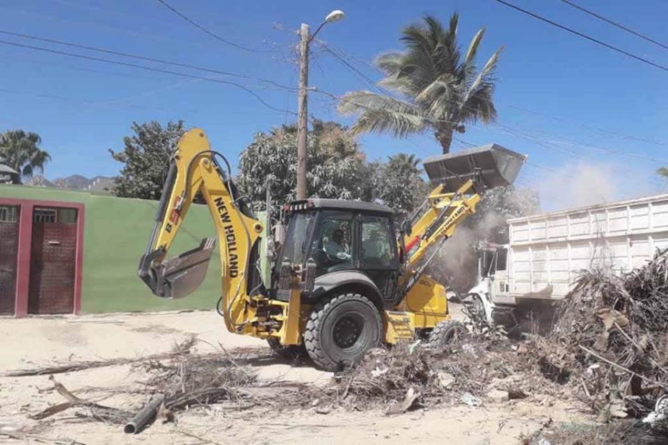 Trabaja Servicios Públicos por más calles limpias en Los Cabos