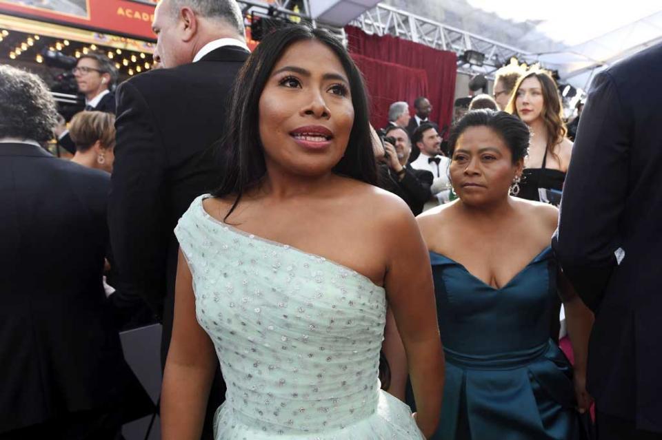 Yalitza Aparicio agradece a su hermana motivarla a hacer casting de Roma