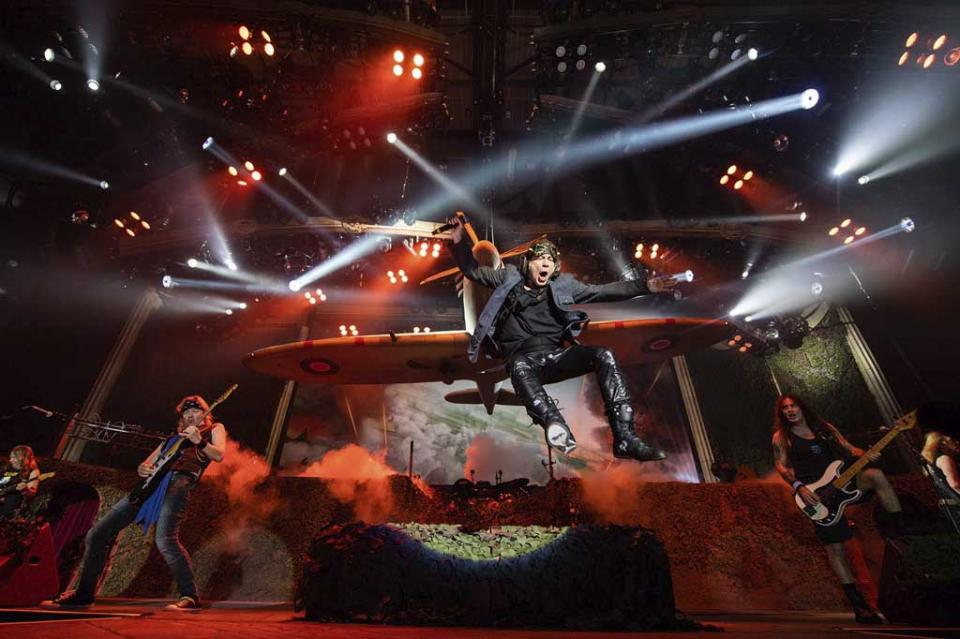 Iron Maiden anuncia tercer concierto en el Palacio de los Deportes