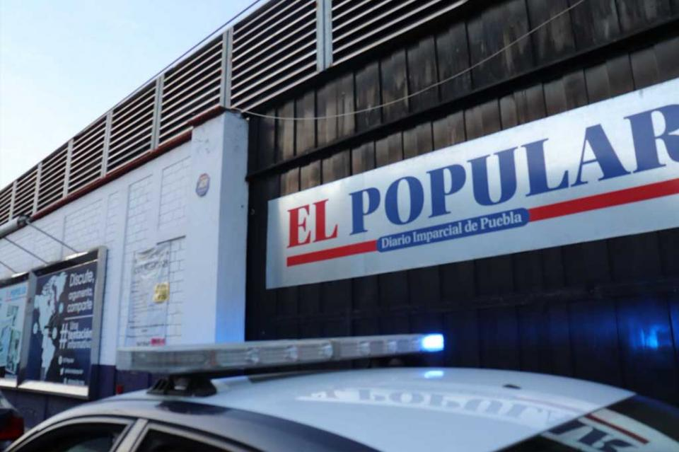 Roban nómina de El Popular de Puebla